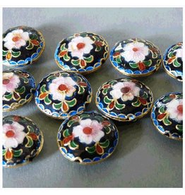Cloisonne Perlen 18 mm - 1 VE