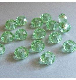Glas Perle - grün 14 mm