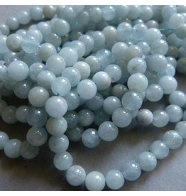 Aquamarin Perle 6 mm