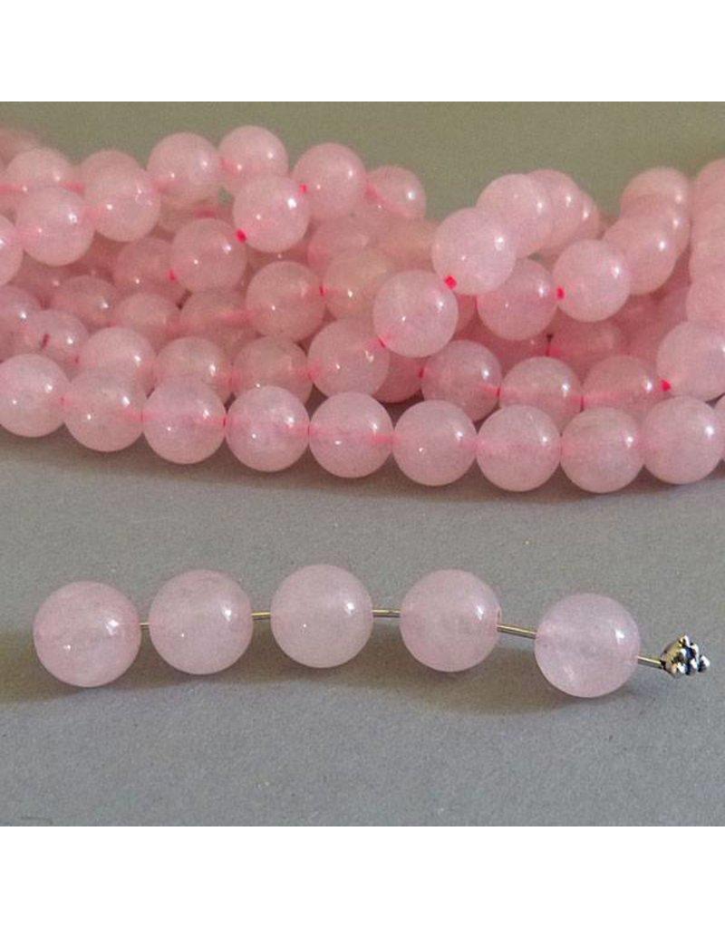 Rosenquarz Perle 6 mm