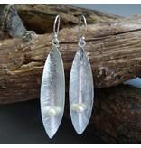Campur GmbH 1 Paar Silber Hänger mit Zucht Perle
