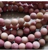Rhodochrosit Perle 6 mm