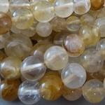 Citrin Perlen