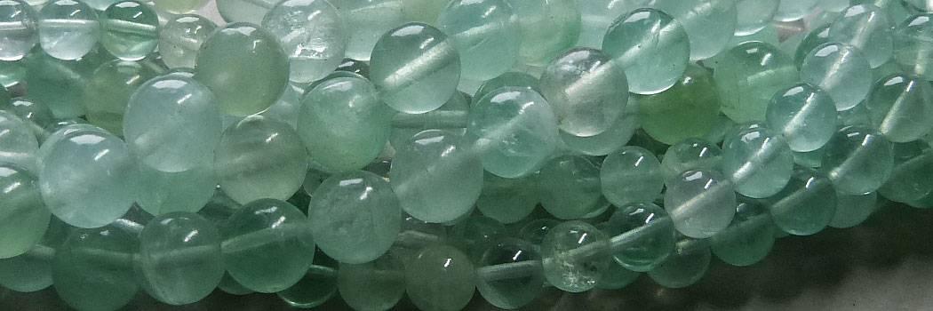 Grüne Fluorit Perlen