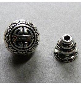 Metall Perle - Guru Perle 10 mm