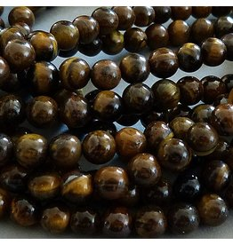 Tigerauge Perle 6 mm