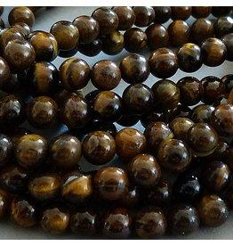 Tigerauge Perle 6,5 mm