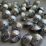 Metall Perlen silberfarben