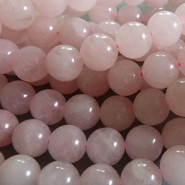 Rosenquarz Perle 12 mm