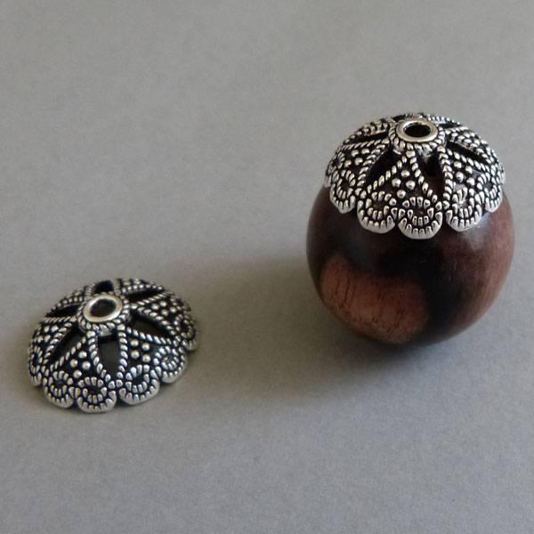 Kamagong Holz Perle 25 mm