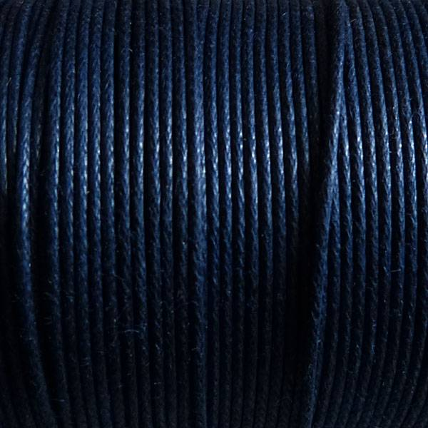 Griffin GmbH 5 Meter Baumwollband - 0,8 mm marine blau