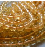 Citrin Perle gelb 6 mm