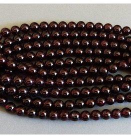 Granat Perle 6,5 mm