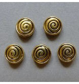 Metall Perle - 8 mm - Spirale