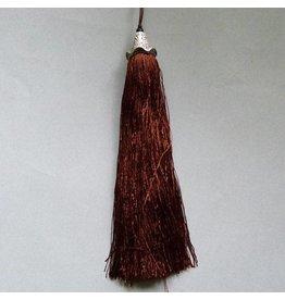 Quaste - braun - 15 cm Länge