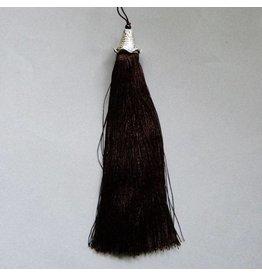 Quaste - dunkelbraun  - 15 cm Länge