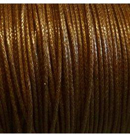 Griffin GmbH 5 Meter Baumwollband - 0,8 mm rehbraun