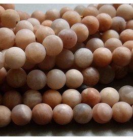 Sonnenstein Perle 6 mm - matt