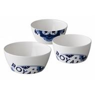 St. James Royal Delft bowl 650ml doos à 6