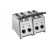 Milan toast tosti-apparaat rvs 4 sleuven //