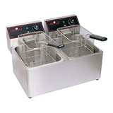 Caterchef friteuse 2x8ltr 2x230V 2x3250W