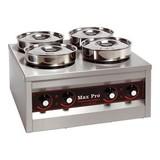 Max Pro Foodwarmer 4 pannen 660W