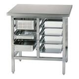 Werktafel voor combisteamer 90(h)x90x70cm //