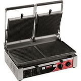 Sirman contactgrill dubbel ribbel m/timer 515x435xs280(h)