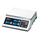 Electronische rekenweegschaal geijkt max. 6/15kg