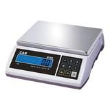 CAS weegschaal elektronisch 6kg 0,2gr grad. plateau 31x22cm