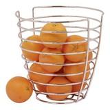 Sinaasappelkorf verchroomd Ø24cm