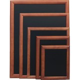 Securit krijtbord dark brown 60x80cm