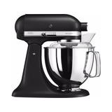 Kitchen Aid keukenmachine KSM175 Iron Black mat met extra accessoires // 5KSM175PSBK