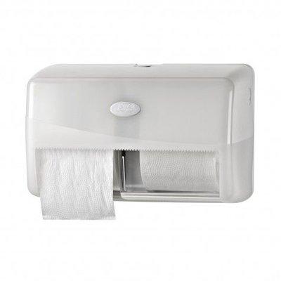 Euro Pearl white duo toiletrolhouder compact max Ø15cm