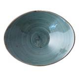 Continental Rustic blauw schaal salsa diep ovaal 14cm doos à 6