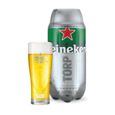 Heineken Star Glazen (6 stuks)