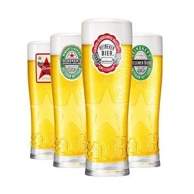 Heineken Legacy glazen (4 stuks)