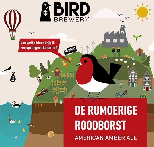 Rumoerige Roodborst by Bird Brewing
