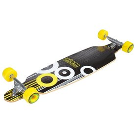 "Atom 36"" Drop-Through Longboard - Yellow"