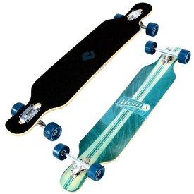 "Atom 39"" Drop Kick Longboard Artisan Blue"