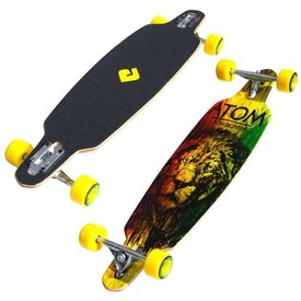 "Atom 36"" Drop Through Rasta Lion"