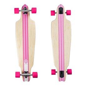 Saterno Pink Stripe - Drop Through