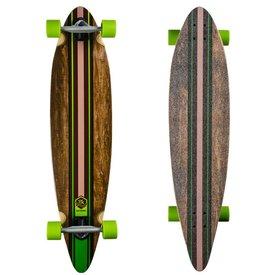 Saterno Green Multi Stripe - Pintail with Kick