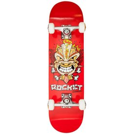 Rocket Skateboard Mini Tiki Fire