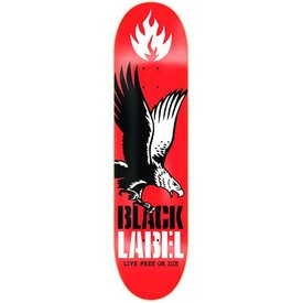 "Black lable Team Live Free 8.12"" - Deck"