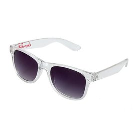 Chocolate Deluxe Sunglasses Clear