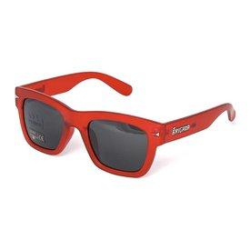 Brigada Big Shot Sunglasses Red Frost
