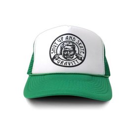 "Gravity Trucker Cap ""Shut Up"" - Green"