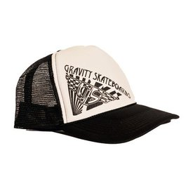 Gravity Trucker Cap - Black