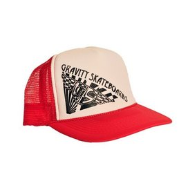 Gravity Trucker Cap - Red